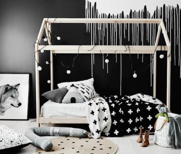แต่งเตียงสีดำ 6